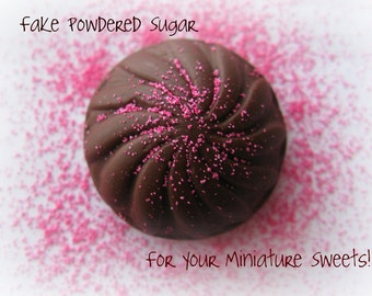 Fake Sugar Sprinkles for Kawaii Sweets Miniature Food