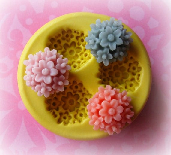 Daisy Mold Flower Silicone Flexible Clay Resin Mould