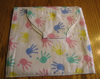 """Flannel Blanket and Matching Diaper for 15"""" doll like Bitty Baby  SALE"""
