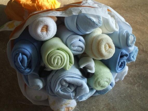 Baby Flower Bouquet Boy Clothing size newborn to 3 months