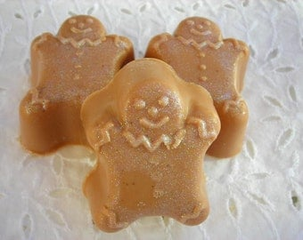 Gingerbread Man Soap Set