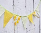 Lemonade Stand Pennant Banner