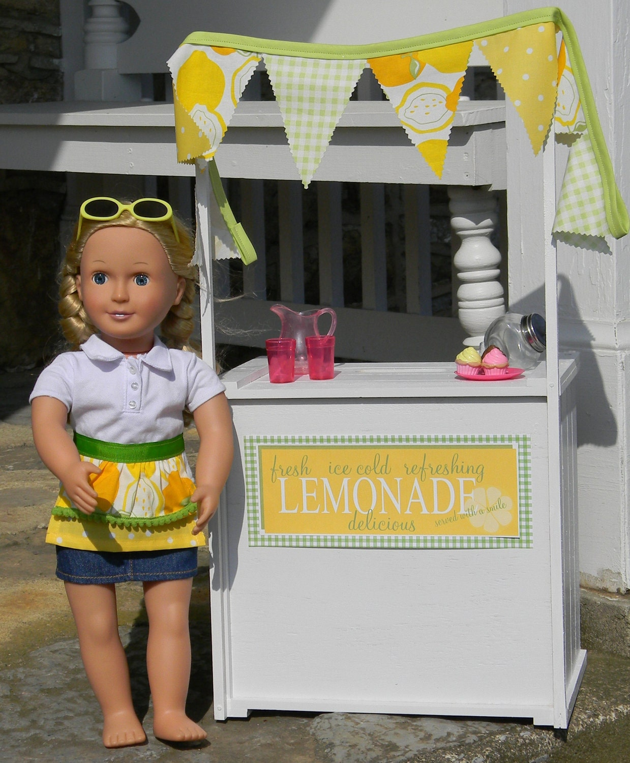christy lemonade stand