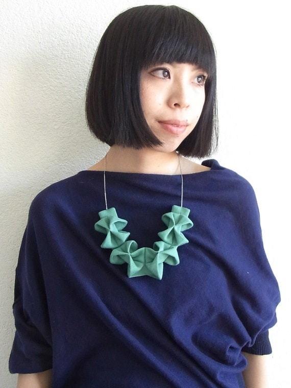 Origami Kuru Shou - Sea Foam Green