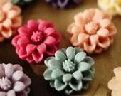 10pcs Colorful Lovely Mini Sunflower Cabochon