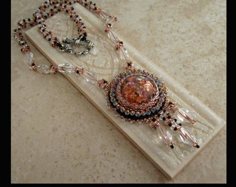 KIT- Copper Flecks Necklace