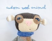 Custom Wool Animal