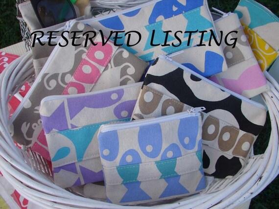 Reserved Custom Listing for Gillian