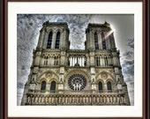 Notre Dame, Paris, France - Fine Art Print