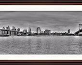 New York City Skyline - Fine Art Print