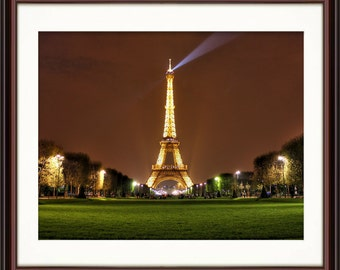 Eiffel Tower, Paris, France - Fine Art Print