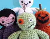 PDF Pattern Five Lil Spooks Crochet