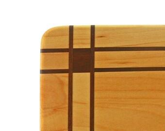 Inlaid Wooden Cutting Board --- Morgan Park