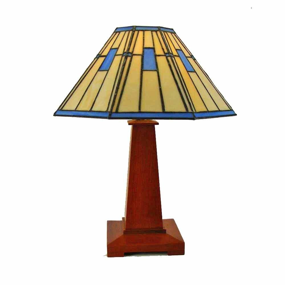 mission arts and crafts table lamp. Black Bedroom Furniture Sets. Home Design Ideas