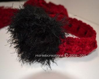 Ear Muffs  Crochet Pattern PDF