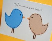 Funny, Snarky, Honest Friendship Card / Money