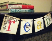 READ Banner, Teacher gift, Classroom Decoration
