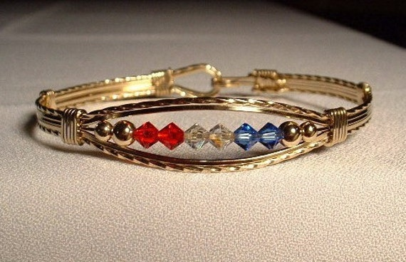 Mom Bracelet, Grandma Bracelet, Mothers Day, Crystal Bracelet, Crystal