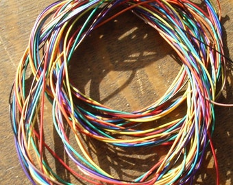 Colored wire for crafting