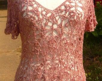 MIRANDA Crochet Summer Top PDF Pattern