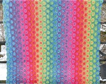 Rita Crochet Blanket - PDF Crochet Pattern