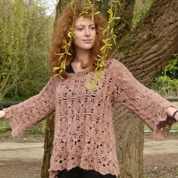 Dulcie Crochet Sweater PDF Pattern