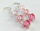 Cascade en Rose in Sterling Silver