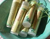Aroha Organics Lip Balm .15oz  2 for 5 dollars