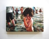 Sea / Tiny canvas print