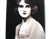Vintage lady / Print