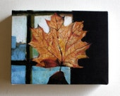 Leaf / Tiny canvas print