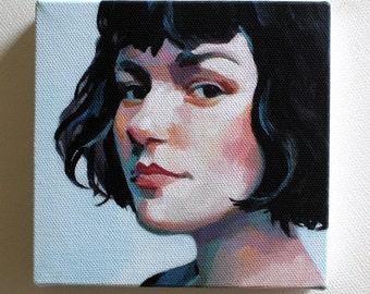 Jenny / Tiny canvas print