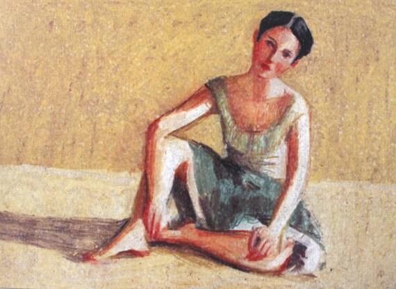 The Dancer / Paper print