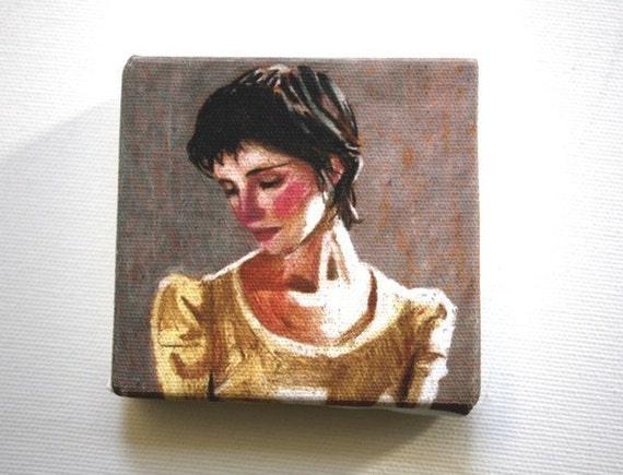 Naomi II / Tiny canvas print