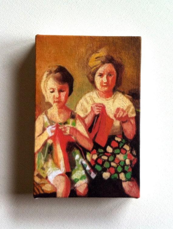 Poland / Tiny canvas print