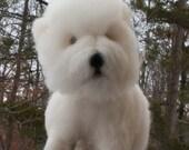 Birthday Gift Needle Felted Custom Pet Portrait Dog, Cat, Wildlife, Memorial Pet Sculpture