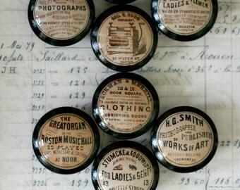 Vintage Knobs 8 pc. set Door Pulls