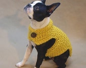 Ultra Warm and Thick Wool Dog Sweater - Custom Size Up to 35 lbs