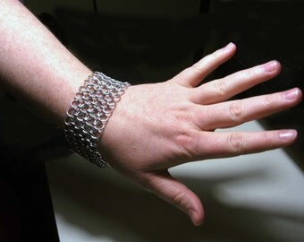 Chainmail Bracelet\/Cuff