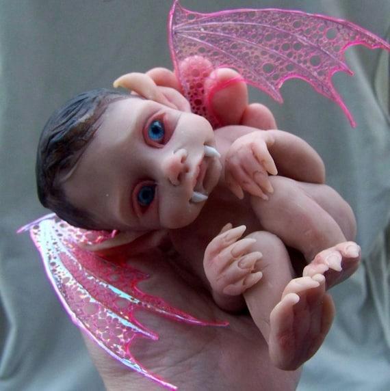 OOAK Vampire Baby Girl by Malga