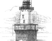 Hooper Island Lighthouse - print
