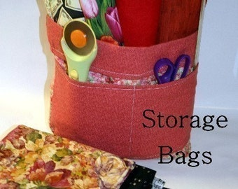 Storage Bags pdf Sewing Pattern