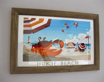 Summer Beach Hokie