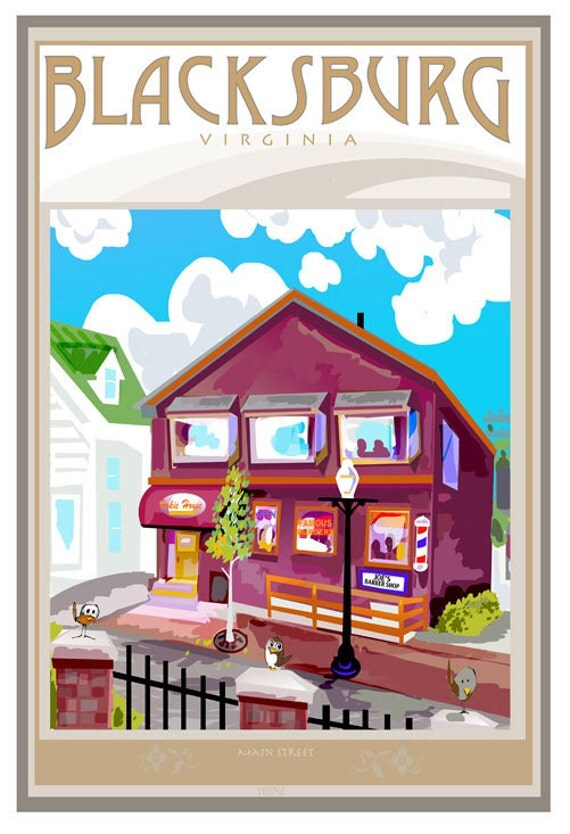 Hokie House Poster