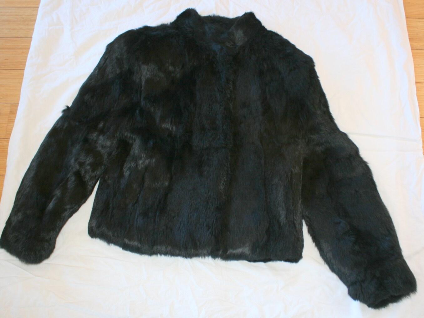 Faux Fur Leather Jacket
