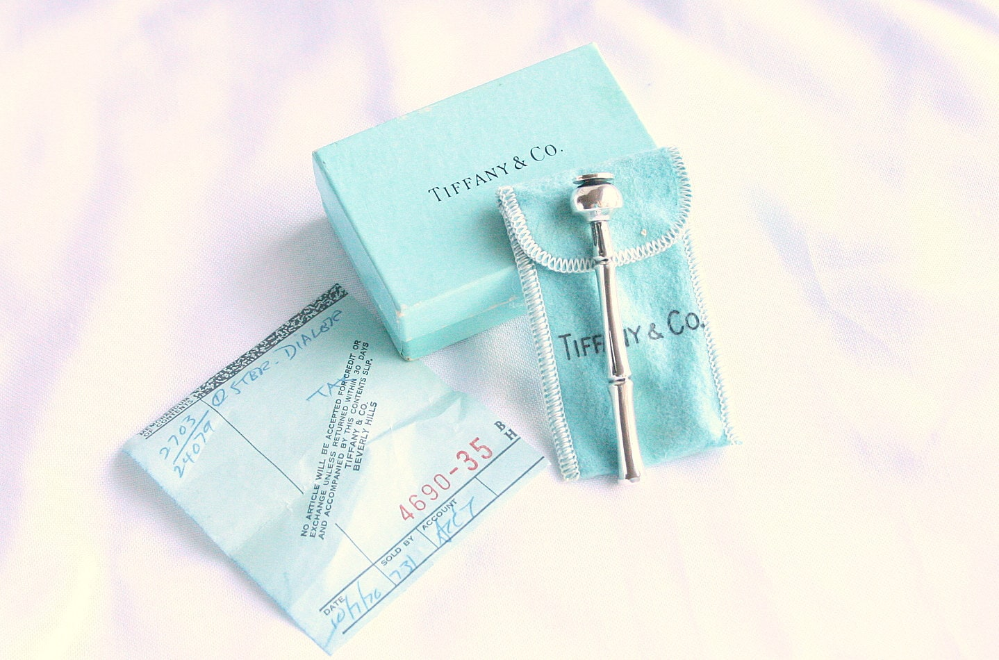 Reserved For Sharon Tiffanys Sterling Silver Telephone Dialer