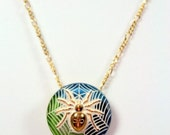 The Itsy Bitsy Spider Necklace