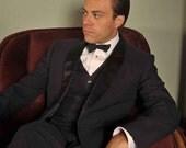 Vintage 1950s Tuxedo // The Tony Martin Shawl Collar Tuxedo 40 42