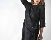 Vintage 1920s Dress // The Ligeia Gothic Flapper Dress As-Is