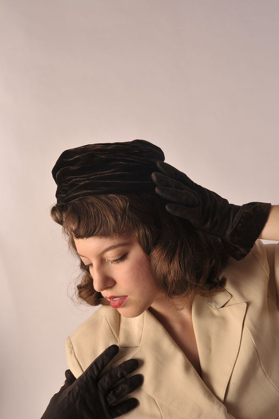 The 1960s Cacao Vintage Hat